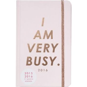 2015-2016 ban.do I Am Very Busy Planner