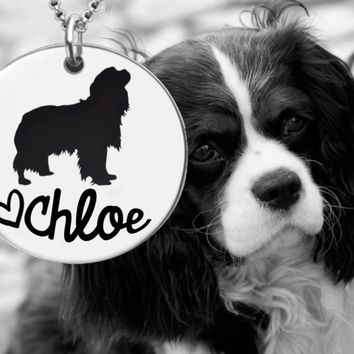 Cavalier King Charles Spaniel Personalized Jewelry