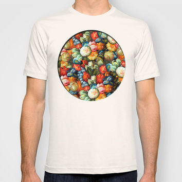 Flower Salad T-shirt by Tony Vazquez