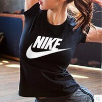 NIKE Women Fashion T-Shirt Top Tee