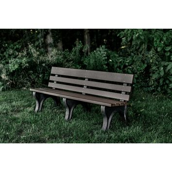 Wildridge Heritage Outdoor Park Bench  - Ships in 10-14 Business Days