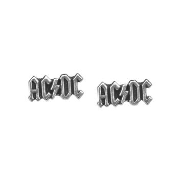 Alchemy Gothic AC/DC Logo Studs Earrings