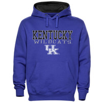 Kentucky Wildcats 3-Stack II Pullover Hoodie – Royal Blue