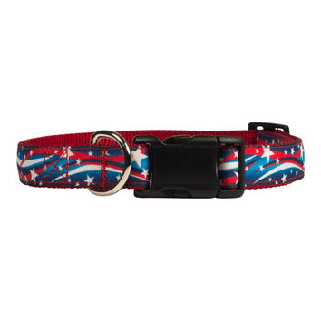 Star Spangled Dog Collar
