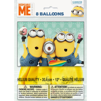 The Minions Party Balloons [8 Per Pack]