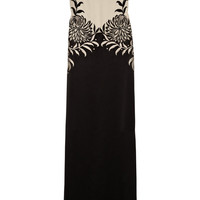 Temperley London | Embroidered silk gown | NET-A-PORTER.COM