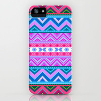Mix #242 Glow iPhone Case by Ornaart | Society6