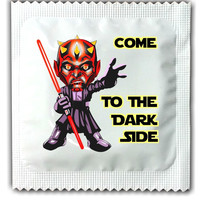 Star Wars Condom - Come to the Dark Side