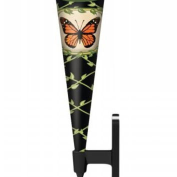 Vaselet Wall Mount Bud Vase, Butterfly, Small
