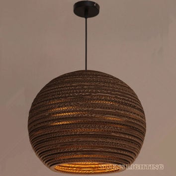 Creative Paper Pendant Lantern Light E27