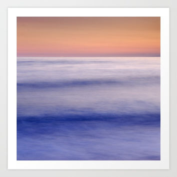 Dreamed sea Art Print by Guido Montañés