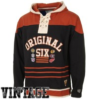 Old Time Hockey Original Six Powell Hoodie - Black