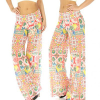 Paperback Writer Palazzo Pants, Awesome Summer Pants