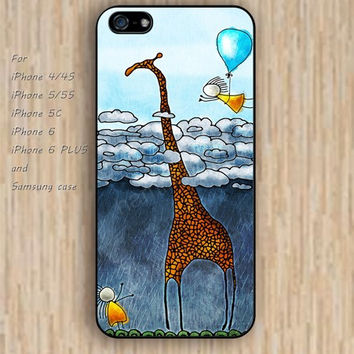 iPhone 6 case giraffe dream iphone case,ipod case,samsung galaxy case available plastic rubber case waterproof B224