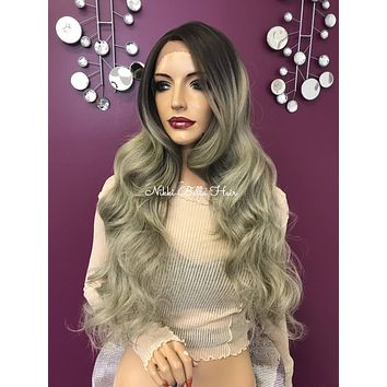 Blond lace front wig| 13 x4 free Multi parting | Soft blended human hair| #11840 Purposely in Love