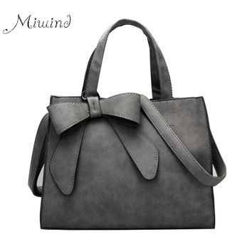 women bag handbags over shoulder crossbody sling summer leather tote bow Scrub black small luxury brand girl messenger fringe