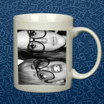 Lady Gaga and Lana Del Rey   Mug, Quote Mug, Beyonce Mug, Ceramic Mug, typography, Beyonce Quote, Cup Mug 'AP""