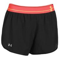 Under Armour HeatGear Perfect Pace Shorts - Women's at Champs Sports