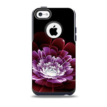 The Glowing Abstract Flower Skin for the iPhone 5c OtterBox Commuter Case