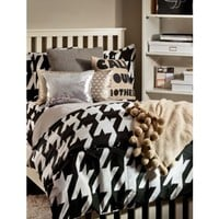 Houndstooth Fairy Duvet Set - Twin/Twin XL