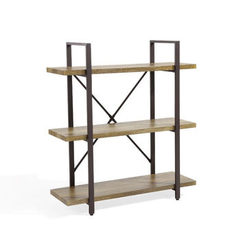 DanyaB Three Level Rustic Shelving Unit