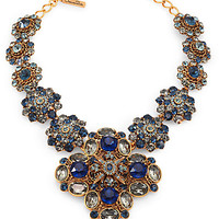 Swarovski Crystal Bib Necklace