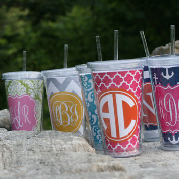 Personalized 16 oz.  Acrylic Cup Bridesmaids Gift or by rrpage