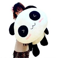 Lovely Stuffed Animals Best Birthday Gift High Quality  Panda Plush Toys Lie Prone To Lie Prone Bear Holiday Gifts