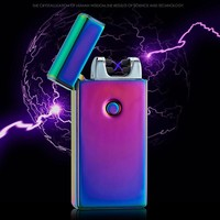 "Traveler Camper ""Prism Chameleon"" Outdoor Ready Double Arc Plasma Lighter *USB Rechargeable"