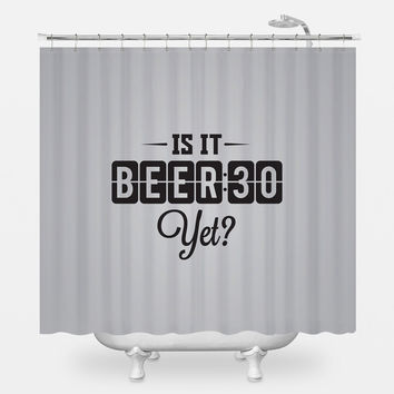 Beer 30 Shower Curtain
