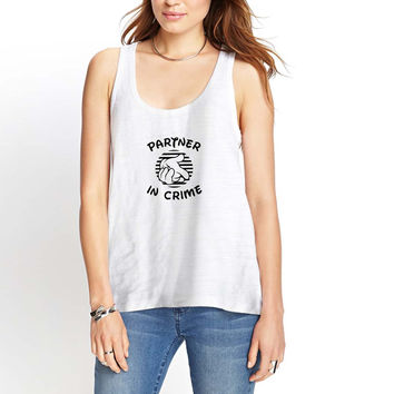 Partners In Crime Womens Tank Top *