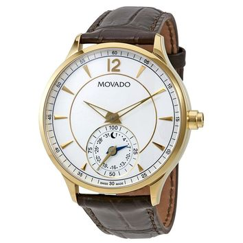 Movado Circa Motion Yellow Gold-tone Mens Smart Watch 0660008
