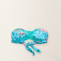 Aerie Cross-Front Bandeau Top