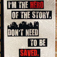 Lyrics Art I'm the hero of the story Don't need to be by Stoic