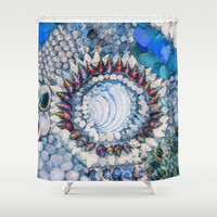 THE BEAUTY OF SEASHELLS Shower Curtain by Catspaws