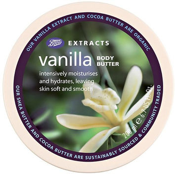 BOOTS Bts Ext Vanilla Body Butter 200ml