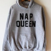 NAP QUEEN Hoodies fleece maglie tumblr oversized hoodie moleton unissex  outfit grey sweatshirt fashion instagram jumper