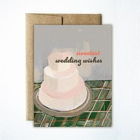 FERME A PAPERIE WEDDING CAKE CARD