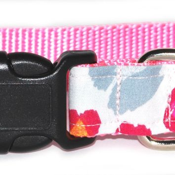 Pretty in Preppy Dog Collar
