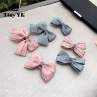 New Arrival Girl Kids Baby Bow Hairpins Bowknot Hair Clip Children Barrette Hair Accessories Full Cover Clips