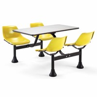 OFM Office Furniture 1004-Yellow Group/Cluster Yellow Table and Chairs