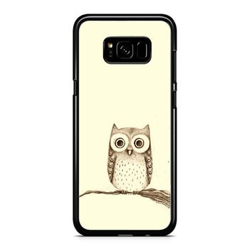 Owl Drawing Samsung Galaxy Note 5 Case