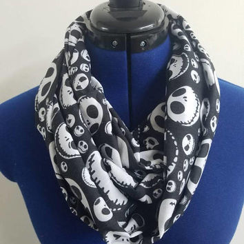 Nightmare  - before - Christmas  - jack - skellington  - sally - halloweentown  - disney - infinity  - scarf