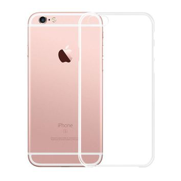 Transparent Clear Soft Silica Gel TPU Case Silicone Cover for iPhone 6 iPhone6 Plus iPhone 7 Ultra Thin Mobile Phone Case