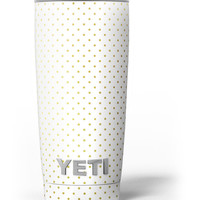 The Golden Micro Dot Pattern Yeti Rambler Skin Kit