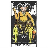 Min.order is 10 (mix order )Exclusive Sale Tarot DEVIL  Box stickers Personalized Laptop Stickers[Single]
