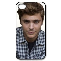 Zac Efron case for iPhone 4 4s / iphone 4 4s case hard cases / IPhone 4 4s Design and made to order / custom cases
