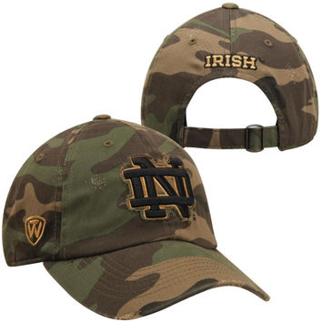 Top of the World Notre Dame Fighting Irish Beat Camo Adjustable Hat - Black