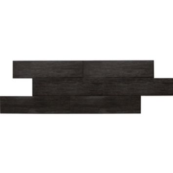 Shop American Olean 12-Pack Terreno Black Forest Thru Body Porcelain Indoor/Outdoor Floor Tile (Common: 6-in x 24-in; Actual: 5.87-in x 23.62-in) at Lowe's
