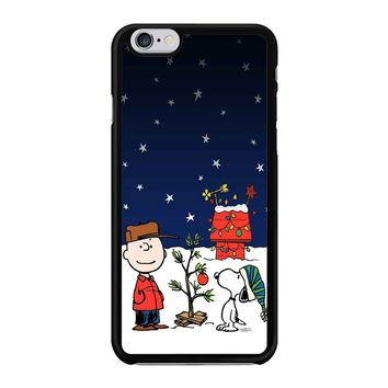 Charlie Brown Christmas Peanuts 001 iPhone 6/6S Case